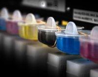 Tusz kolorowy, wydruki